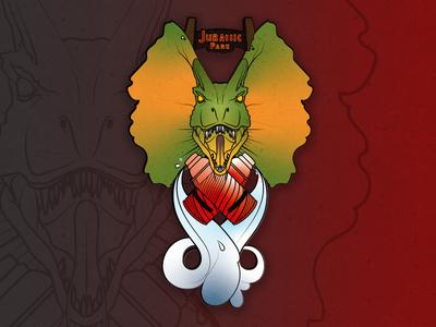 Stick Stupid! dino nerd jurassicpark dinosaur illustration