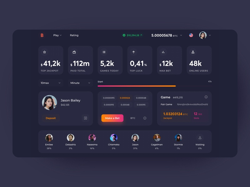 Bitcoin Roulette First Screen gambling play ico token game cryptocurrency bitcoin roulette pages colors mobile concept crypto neon darkmode interface webdesign productdesign uxdesign uidesign