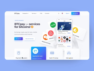 Bitcoin Gift Cards Platform Desktop Concept menu header crypto design cryptocurrency fintech finance crypto trading concept neomorfism clean ui clean corporate platform desktop web design web ux design ui design interface