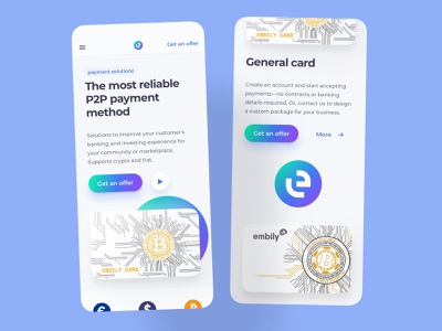 banking solutions platform screens mobile clean neumorphism card banking home screen investing card money business finances financial bank banking neumorphism clean mobile screens platform fintech solutions ilyaddkv crypto design roobinium