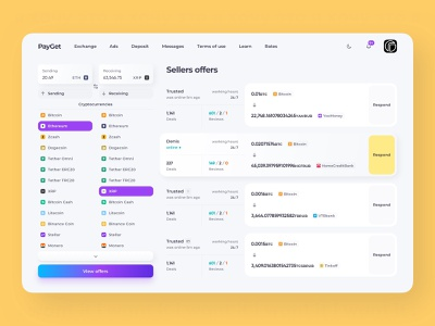 crypto exchange platform concept desktop clean neumorphism crypto design web design product design uxdesign uidesign ui fintech finance field interface crypto website crypto platform crypto service swap crypto exchange exchange sell buy buy and sell selling