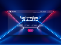 VR Hollywood Landing Page