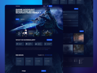Games Dealer Home Landing Page