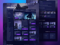 Destiny 2 Game Products Page