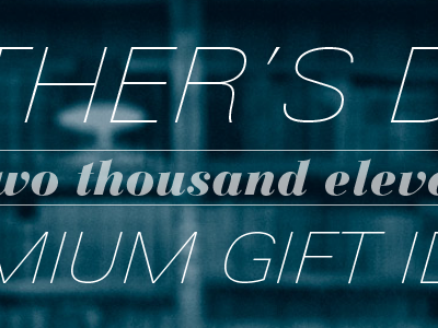 First pass at a microsite header blue grain univers bauer bodoni