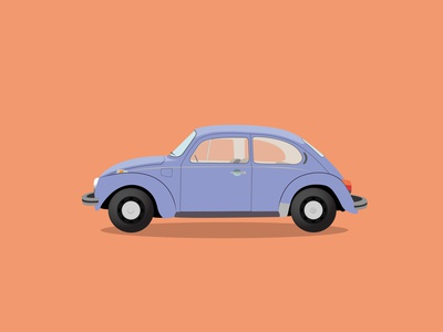 Vw Beetle volkswagen beetle vw illustration car