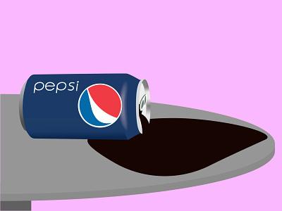 Spilled Pepsi pepsi