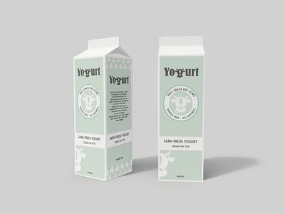 yogurt package packaging yoghurt package branding