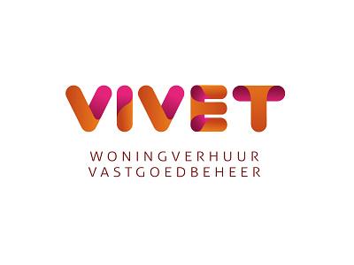 Vivet logo immobilien branding logo