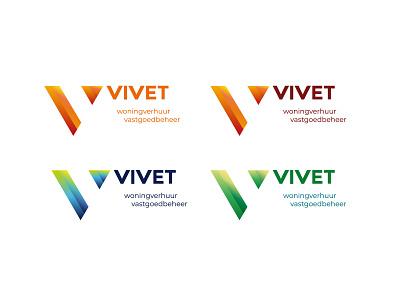 Vivet immobilien brand logo