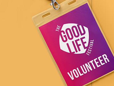 The Good Life Volunteer Badge