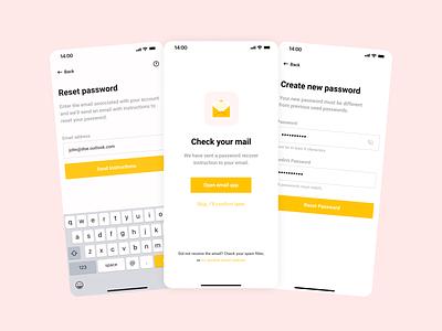 Mobile Design simple process app illustration popular dribbble ux web design minimalistic ui figma design clean card