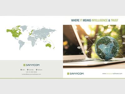 Brochure cover cover profile company brochure