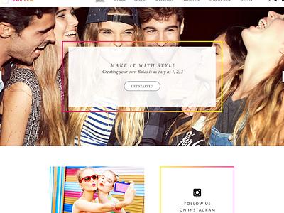 Baia Baia ui ux web design ux ui designer hanoi