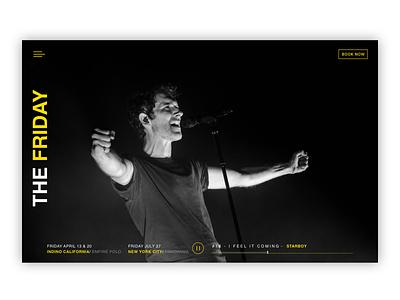 Music Show music app ui web design ui ux ux ui designer hanoi music show