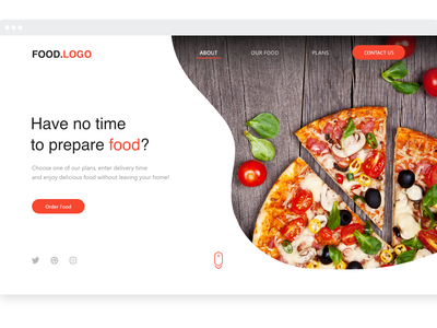 Food Website food app ui ux ux ui designer hanoi web design