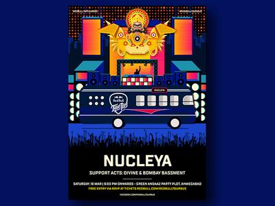 Redbull Tour Bus x Nucleya