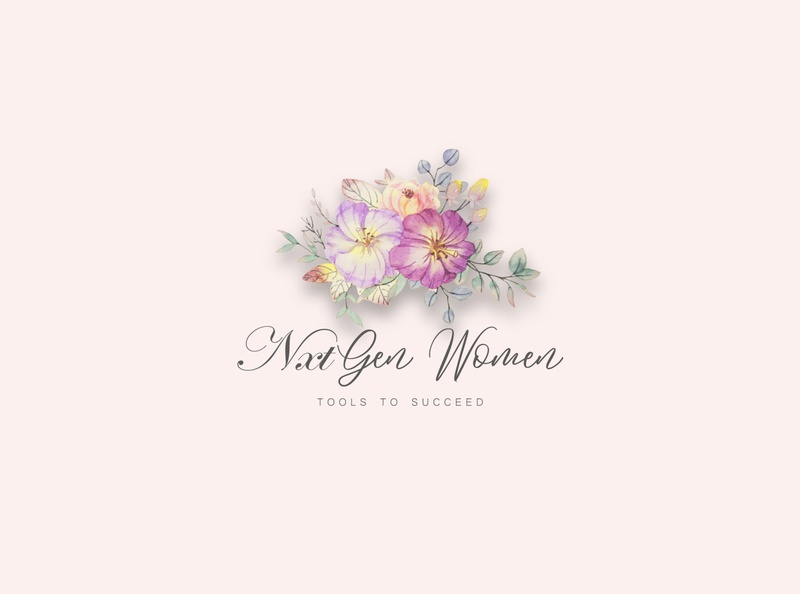 Nxt Gen Women Logo Design. vector logo illustration