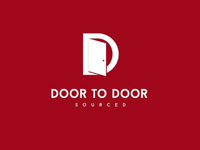 Door to Door Logo Design. vector logo illustration