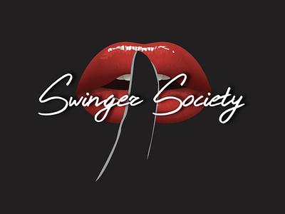 Logo Design - Swingers Society adobe illustrator logotipos brand identity logos illustration diseño de logo brand design branding design logo design logodesign logotype logo