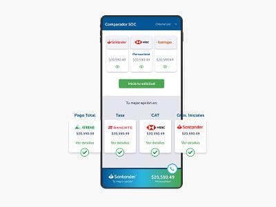Prototipo de simulador hipotecario ui ux ui mobile app design mobile design mobile app mobile ui mobile app design app