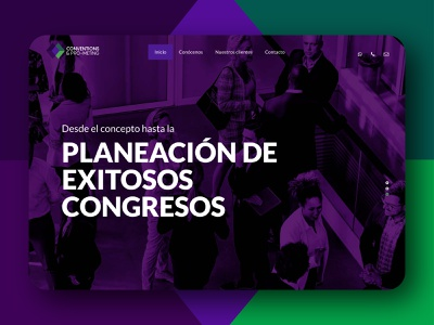 Web design | Conventions & Pro-Meting mobile mobile design design webdesign landing web design website design landing page design website web landing page