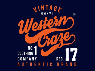 Illustration_Western Craze Typography vintage design vectorart typography tshirt art illustraion designoftheday design art creative design clothing design clothing brand branding adobe