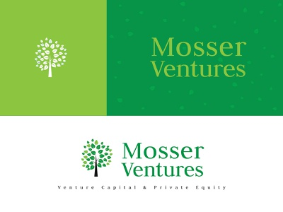 Illustration_Mosser Ventures Logo logo artist logo design green logo venture logo illustration art illustration designoftheday
