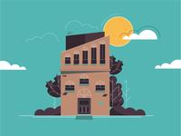 Illustration_Modern Villa