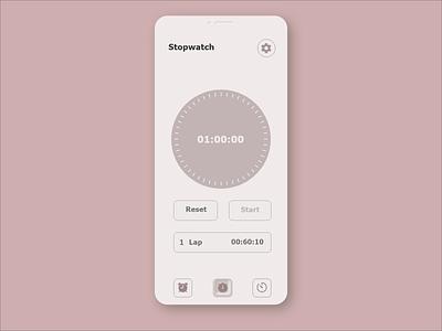 Countdown Timer 014 alarm app 014 alarm uiux dailyui ui design dailyuichallenge 100daychallenge countdown countdown timer stopwatch