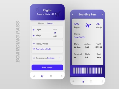 Boarding pass ticket boarding airplane 024 boarding pass boardingpass ui design uiux dailyui dailyuichallenge 100daychallenge