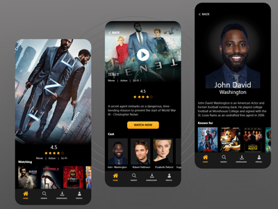 Movie App netflix and chill netflix tv show 025 tv app movie ui movie app movie ui design uiux dailyuichallenge dailyui 100daychallenge