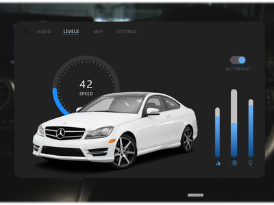 Car Interface Design mercedes-benz car dashboard car interface car 034 ui ui design dailyuichallenge uiux dailyui 100daychallenge