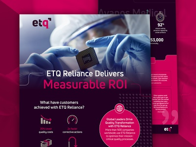 ETQ Software Infographic infographic
