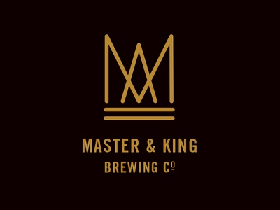 Master & King beer logo
