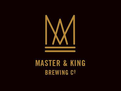 Master & King beer logo