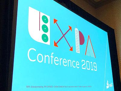 UXPA Presentation logo identity