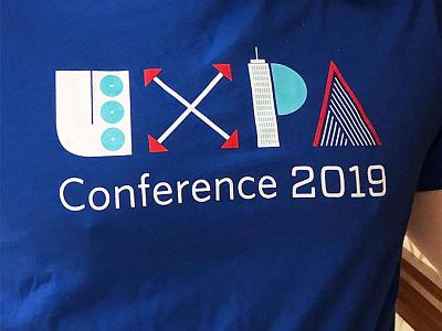UXPA T-Shirt logo identity