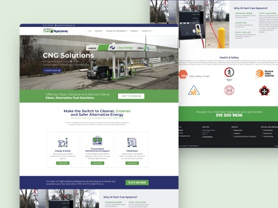 Energy Company Web UI website business website company energy ui design website design web design ux web ui