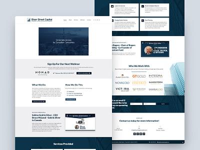 Business Web UI website website design web web design ui design ui business website