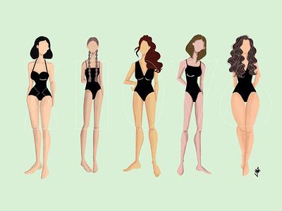 Basic body shapes-unbasic adobephotoshop doodle character design digital illustration digitalart illustration doodleart