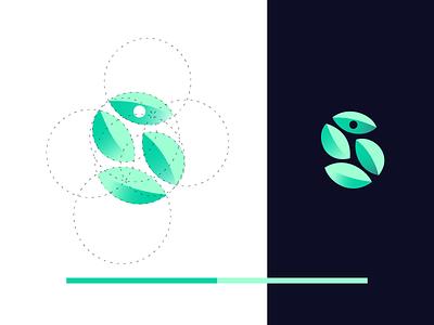 Education logo - letter S branding letter icon symbol logotype identity mark design logo