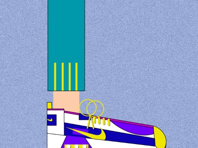 random nike shoes flat designs flat  design nike shoe design shoes flat illustration flatdesign flat art minimal artwork creative vector animation photoshop illustrator illustration design