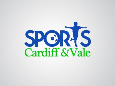 Cardiff and Vale Sports Logo logo design vector illustration