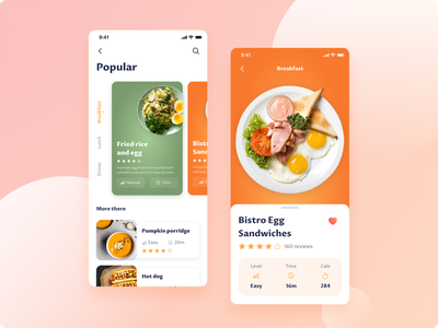 Cooking Recipe App minimal app foodapp cook food app food delicious mobile ui uidesign mobile productdesign ui  ux tek tekono recipe app cooking app recipes recipe cooking