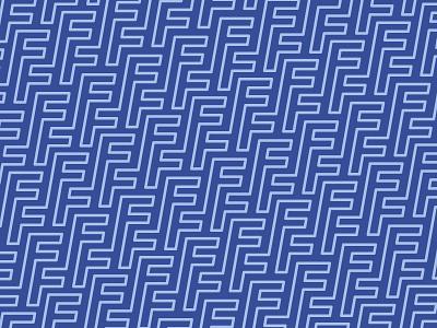 FF Pattern branding mongram contour line logo pattern ff color twinoaks