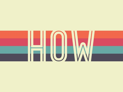 HOW how lines color retro twinoaks type how design live