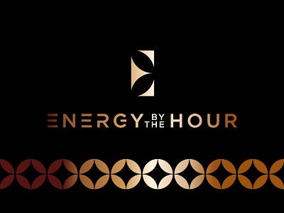 Energy By The Hour 3 branding logo energy gold logotype twinoaks luxury