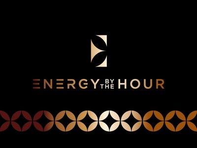 Energy By The Hour 3 branding logo energy gold logotype twinoaks luxury