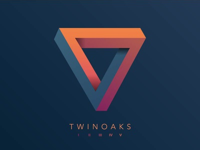 TWINOAKS V anniversary gradients geometry impossible triangle penrose five twinoaks